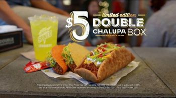 Taco Bell $5 Double Chalupa Box TV Spot, 'Even Better'