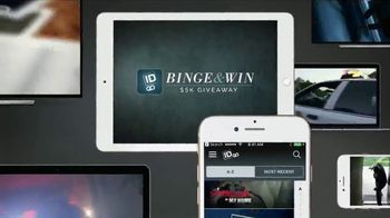 ID GO Binge & Win $5K Giveaway TV Spot, 'It Pays to Watch'