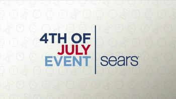 Sears 4th of July Event TV Spot, 'Home Appliance and Mattress Sets'