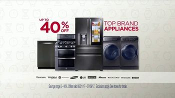 Sears 4th of July Event TV Spot, 'Home Appliance & Mattress Sets'