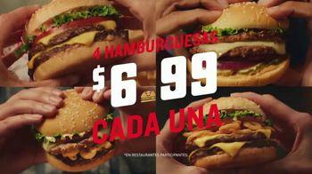 Red Robin Gourmet Burgers TV Spot, 'Pongámonos picantes' [Spanish]