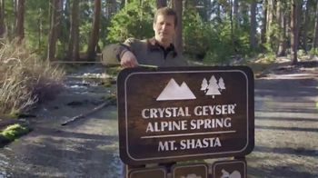Crystal Geyser TV Spot, 'Travel Distance'