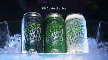 Mountain Dew Label Series TV Spot, 'Boldly Refined'
