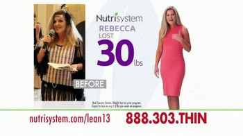 Nutrisystem Lean13 TV Spot, \'Do It Now\'