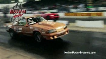 Hellion Power Systems Twin Turbo Kits TV Spot, 'Ford Mustang Power'