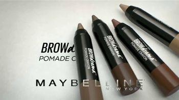 Maybelline New York Brow Drama Pomade Crayon TV Spot, 'Perfectas' [Spanish]