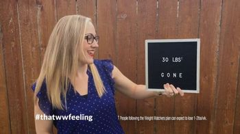 Weight Watchers TV Spot, 'That WW Feeling: Join Free'