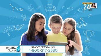 Rosetta Stone TV Spot, 'Metas' [Spanish]