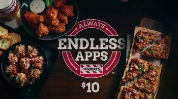 TGI Friday's Endless Apps TV Spot, 'Endless Apps Forever' - Thumbnail 9