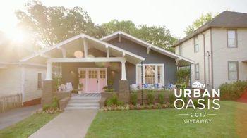 2017 HGTV Urban Oasis Giveaway TV Spot, 'Enter Daily'