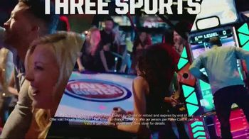 Dave and Buster's TV Spot, 'Three Free Sports Games'