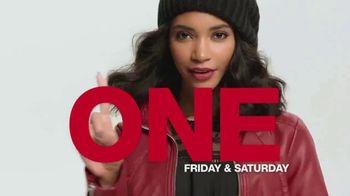 Macy's One Day Sale TV Spot, 'Luggage, Sheet Sets, Cookware'