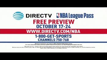 DIRECTV TV NBA League Pass Spot, 'Free Preview'