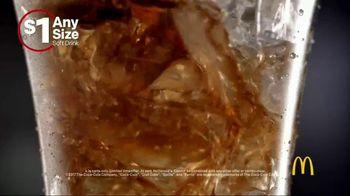 McDonald's $1 Any Size Soft Drinks TV Spot, 'Happy Dance'