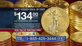 U.S. Money Reserve TV Spot, 'Limited Supply, At-Cost Gold Coins'